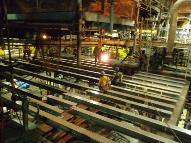 Smelting Furnace Rebuild